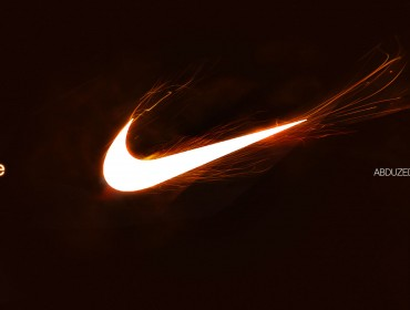 Reproducing the Nike's logo, work on the light