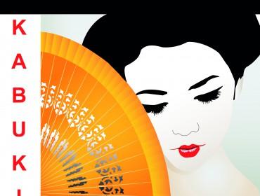 Poster KABUKI - theater