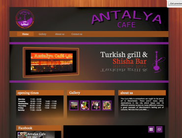 AntalyaCafe Home Page